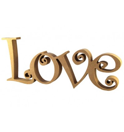 Virutas Creativas - Palabra DM - Love 1